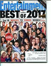 Entertainment Weekly Magazine January 5, 2018 The Best (and worst) of 2017