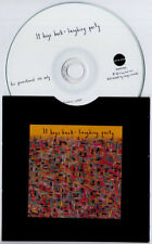 IT HUGS BACK Laughing Party 2012 UK 12-trk promo test CD 4AD