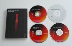 Adobe CS4 Creative Suite 4 Design Premium Mac *See Description*
