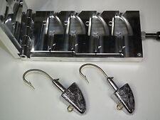 Saltwater Shad jig -3 mold 10,12oz CNC Aluminum
