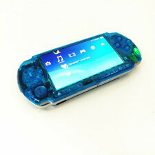 Refurbished Clear Blue Sony PSP-3000 Handheld System Game Console PSP 3000