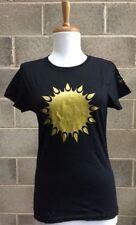 Camisetas de mujer de manga corta de 100% algodón talla M