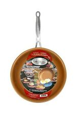 "Gotham Steel 9.5"" Non-Stick Ti-Cerama Copper Fry Pan by Daniel Green - NEW"