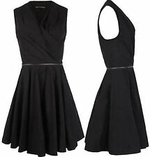 SALE - BNWOT Stunning All Saints Caden Dress Ebony UK size 8