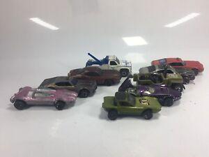 9 Vintage Redlines Hotwheels Mattel Green 68 Python Car USA Canada Restoration