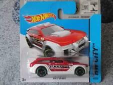 Hot Wheels 2014 # 045/250 HW poursuite rouge/blanc incendie appui voiture CITY