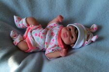 FULL BODY  SILICONE BABY girl miniature