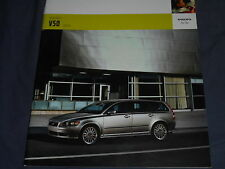 2006 Volvo V50 USA Market Color Brochure Catalog Prospekt