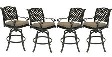 Patio bar stools Set of 4 Outdoor Furniture Nassa