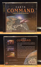 Philips CD-i / JEUX CDI / Compact Disc Interactive - Earth Command + Manuel