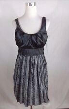 MY MICHELLE GIRLS/TEEN SLEEVELESS FANCY PARTY DRESS SIZE 11 NWT $70.00 GRAY BLAC