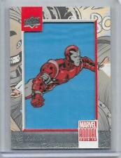18-19 UPPER DECK MARVEL ANNUAL PATCH #P14 IRON LAD