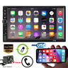 "7"" 2 DIN Car GPS FM Stereo Radio MP5 Player Touch Screen Bluetooth + Rear Camera"