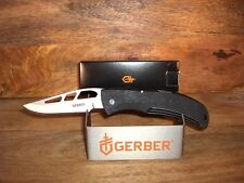 "GERBER KNIFE - E-Z OUT WITH POCKET CLIP - #6701 - 4 1/2"" CLOSED -MADE IN THE USA"