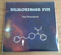 HERONIMUS FIN - The Pharmacist RARE UK HEAVY PSYCH LP Inserts/Poster!