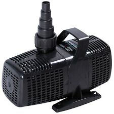 2600 Gph Pond Pump Submersible Inline Fountain Waterfall Koi Filter(Used)
