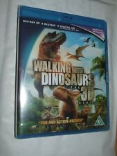 Walking With Dinosaurs The 3D Movie 3D + 2D BLU RAY NEW & SEALED