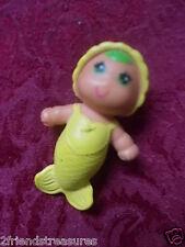 Kenner 1979 Sea Wees Mermaid Baby n Babies Baby Seabrina Yellow