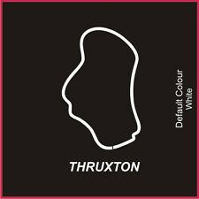 Thruxton Circuit Decal, Track, Vinyl, Sticker, Graphics, Car, N2003