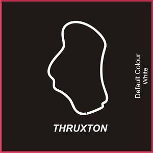 Thruxton Circuit Decal, Track, Vinyl, Sticker, Graphics, Car, N2003