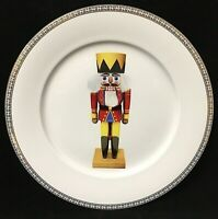 "Gump's San Francisco 14"" Bone China Nutcracker Christmas Platter With Box"