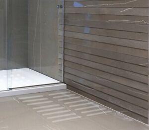 1 lfm  Anti Rutsch Schutz Streifen gummiert Badezimmer Dusche Boden Bad Fliesen