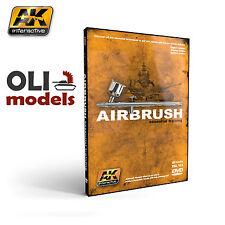 Airbrush Essential Training DVD - AK Interactive 653