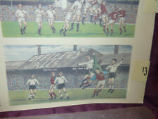 LOTTO 13 Derby County e West Ham VINTAGE FOOTBALL scivolo ad acqua trasferimenti