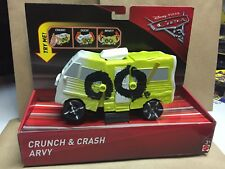 Disney/Pixar Cars 3 Crunch and Crash Arvy Vehicle #FCT06 NEW