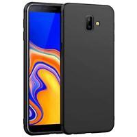 Hülle für Samsung Galaxy J6 Plus Schutzhülle Handy Hülle Slim Case Matt Schwarz
