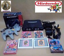 Consola NINTENDO 64 Japonesa JAP NTSC + Juegos y transformador compatible EUR.