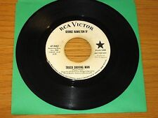 "PROMO COUNTRY 45 RPM - GEORGE HAMILTON IV - RCA 47-8462 - ""TRUCK DRIVING MAN"""