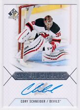 2015-16 SP Authentic Cory Schneider Scripted Stoppers Auto Autograph