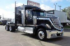 2016 International Lonestar Tandem Axle Sleeper Truck Tractor 406957 Miles Black