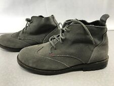 Tommy Hilfiger Gray Suede Chukka Boots Mens Size 7 Kg WS19