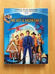 Night At The Museum 2 - (Blu-ray, 2009) - Triple Play Edition.