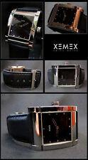 XEMEX AVENUE Midsize DESIGNER UNISEX WATCH BEAUTIFUL SAPPHIRE GLASS NEW Valuable