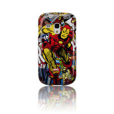 ANYMODE MARVEL HARDCASE CUSTODIA per SAMSUNG GT i8190 GALAXY S3 MINI IRONMAN