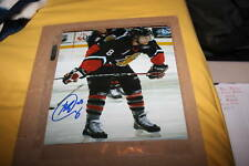 Prince George Cougars Brett Connolly Autographed 8x10 COA