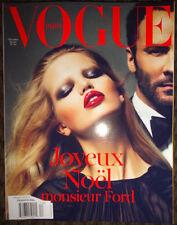 Vogue Paris 2011 12/2010 Tom Ford Abbey Lee Crystal Renn Marisa Berenson Enfants