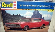revell 1/25 1967 DODGE CHARGER 426 HEMI FASTBACK 2n1
