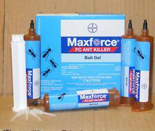 Maxforce FC Killer Ant Bait Gel 1 Box (4 x 27 gram tubes) 1 Plunger & 4 tips