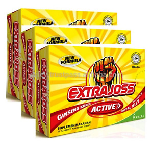 Extra Joss Active Original 120 Sachets Quick Energy Booster Free Shipping