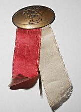 Vintage 1930's Dayton University Flyers Football Pinback Button with Ribbons