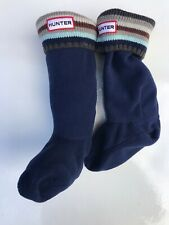 hunter blue Infants, Kids wellington socks size Uk 10-12  XS