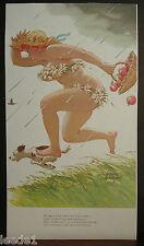 Duane Bryers Hilda Running Rain Wearing Daisies Dog Basket Filled With Apples