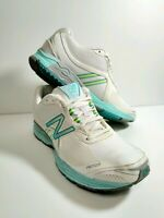 New Balance Women's Fantom Fit 1765 Running Shoes Sneakers Size 8 White Blue