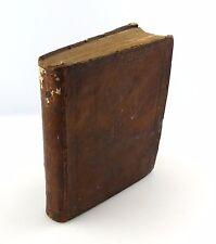 #e7508 Original altes Buch von 1688 ! LILIUM PARADISI COELESTIS Mathias Tanner