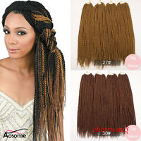 18'' 3 Colors Kanekalon Micro Senegalese Pre Twist Crochet Braid Hair Extensions
