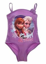 Frozen Swimming Costume Official Disney Girls Lilac Sizes 18 months - 5years
